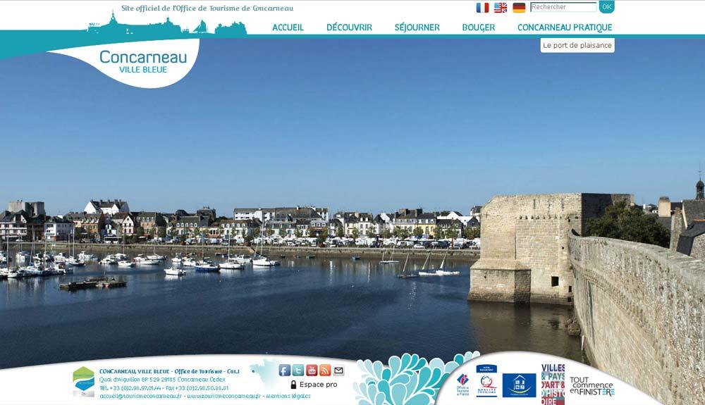 Golf de cornouaille office de tourisme de concarneau - Office de tourisme la foret fouesnant ...