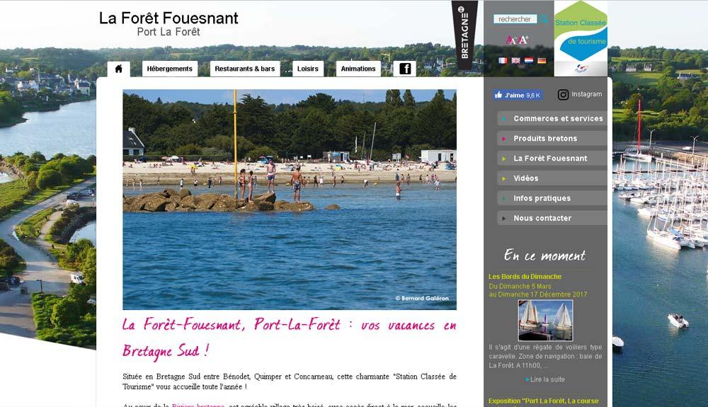 Golf De Cornouaille Office Du Tourisme La For 234 T Fouesnant