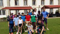 """Compétition de fin d'année """"école de golf juin 2018""""."""